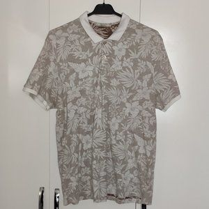 Brown And White Polo Shirt For Men